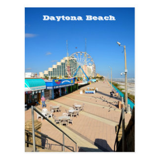 Daytona Beach, postal de la Florida