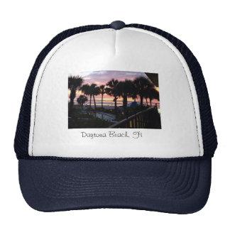 Daytona Beach, salida del sol de FL Gorra