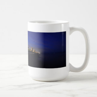 Daytona Beach Shore Hotels Condos Night Mug