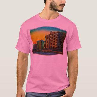 Daytona Beach Shores Coastal Resorts Framed Art T-Shirt