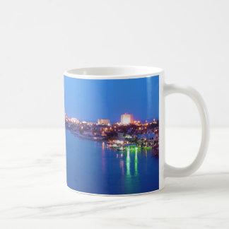 Daytona Beach Shores River Skyline Dusk Mug