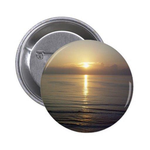 Daytona Beach Sunrise Buttons