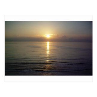 Daytona Beach sunrise Postcard