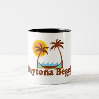 Daytona Beach. Two-Tone Coffee Mug