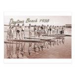 Daytona Beach Vintage Surf Group Photo Postcards