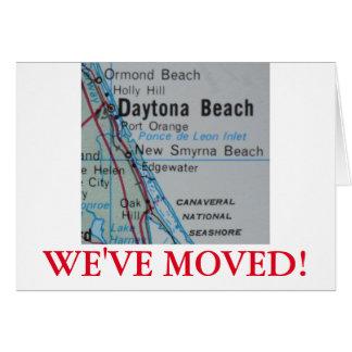 Daytona Beach We've Moved address announcement