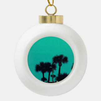 Daytona Bike Week Ceramic Ball Christmas Ornament