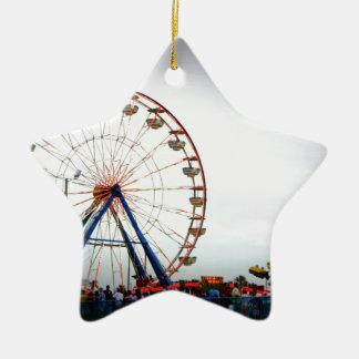 Daytona Boardwalk Ceramic Ornament