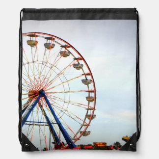 Daytona Boardwalk Drawstring Bag