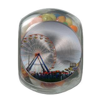 Daytona Boardwalk Glass Jar