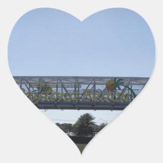 Daytona Heart Sticker