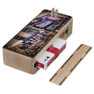 Daytona Main Street Maple Cribbage Board