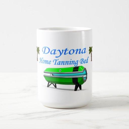 Daytona Tanning Bed Logo Mug