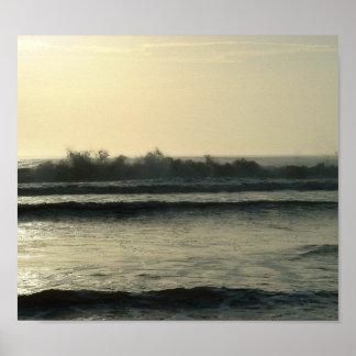 Daytona Waves Poster