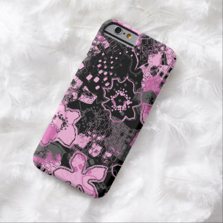 Daytrip Vintage Psychedelic Floral Barely There iPhone 6 Case