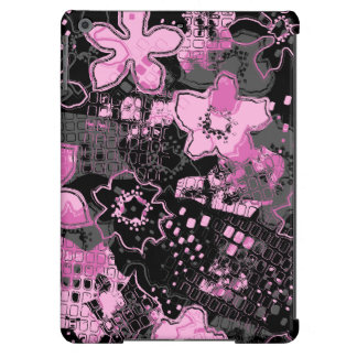 Daytrip Vintage Psychedelic Floral iPad Air Covers