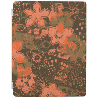 Daytrip Vintage Psychedelic Floral iPad Cover