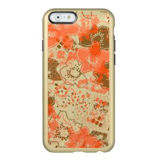 Daytrip Vintage Psychedelic Floral - Metal- Orange Incipio Feather® Shine iPhone 6 Case