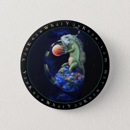 Daze of the Iguana Pinback Button