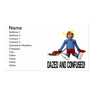Dazed And Confused Business Card