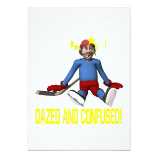 """Dazed And Confused 5"""" X 7"""" Invitation Card"""