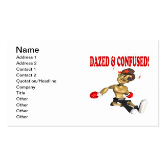 Dazed & Confused Business Card Templates