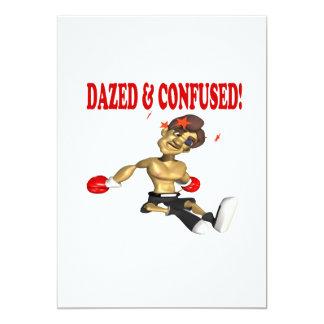 "Dazed & Confused 5"" X 7"" Invitation Card"