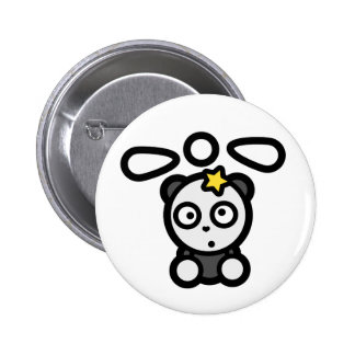 Dazed Panda Copter Standard Round Button