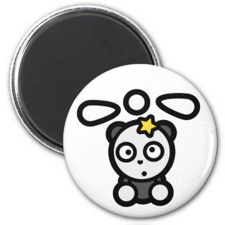 Dazed Panda Copter Standard Round Magnet