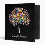 Dazzle Family Tree - Customize Vinyl Binders