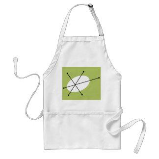 Dazzle Green apron