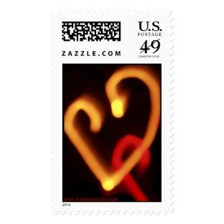 Dazzle Love Mini Heart Postage Stamp