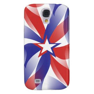 Dazzle Me Patriotic Galaxy S4 Cover