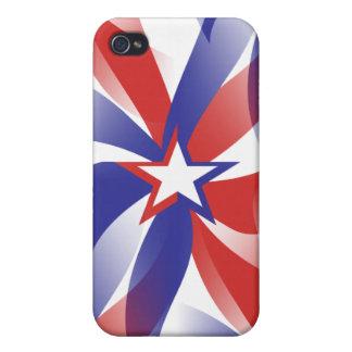 Dazzle Me Patriotic iPhone 4 Case