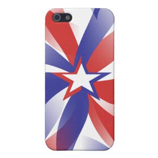 Dazzle Me Patriotic iPhone SE/5/5s Cover