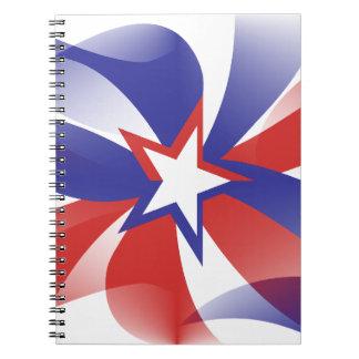 Dazzle Me Patriotic Notebook