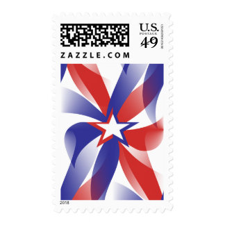 Dazzle Me Patriotic Postage