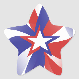 Dazzle Me Patriotic Stickers - Red White Blue Gift