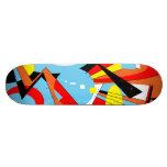 Dazzle Skateboard