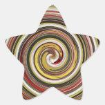 dazzle star sticker