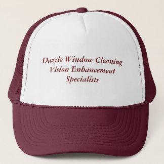 Dazzle Window CleaningVision Enhancement Specia... Trucker Hat