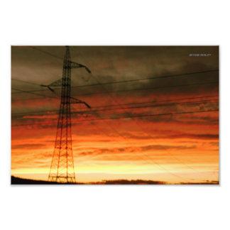 Dazzled Sunset Cojinete