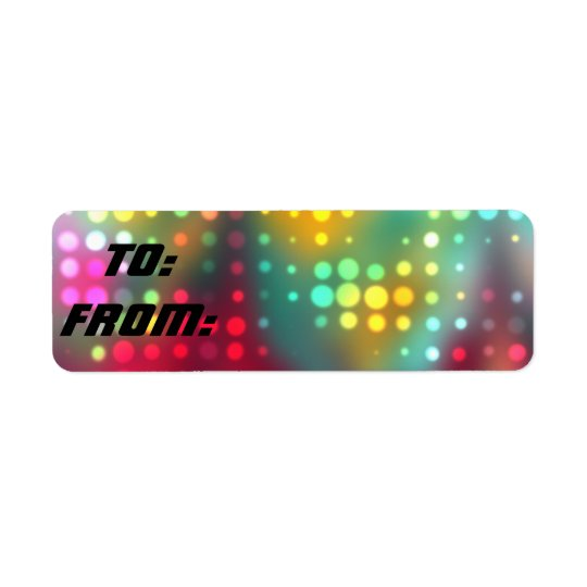 Dazzler Gift Tag Stickers