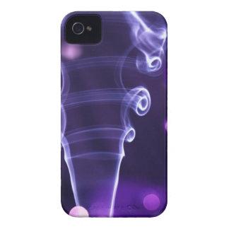 Dazzler púrpura Case-Mate iPhone 4 fundas
