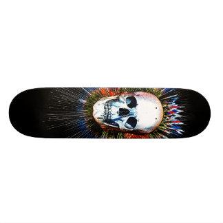 Dazzleskull Skateboard Deck