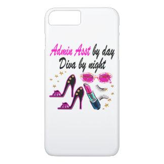 DAZZLING ADMIN ASST DIVA iPhone 8 PLUS/7 PLUS CASE