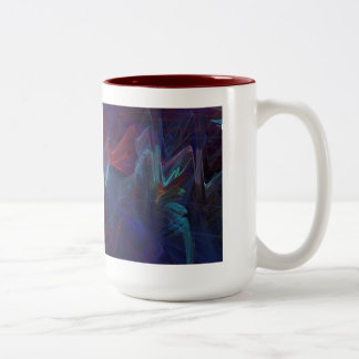 Dazzling and Colorful Two-Tone Mug