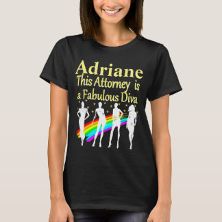 DAZZLING ATTORNEY DIVA PERSONALIZED T SHIRT