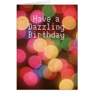 Dazzling Birthday Card