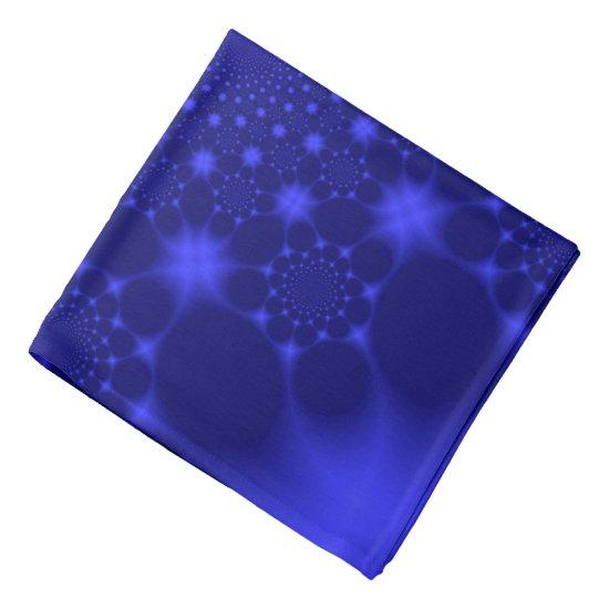 Dazzling Blue Bandana